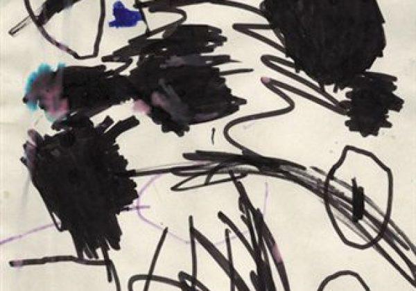 إبني يرسم بالون الأسود, هل يعاني من إكتئاب او مشكله ما؟