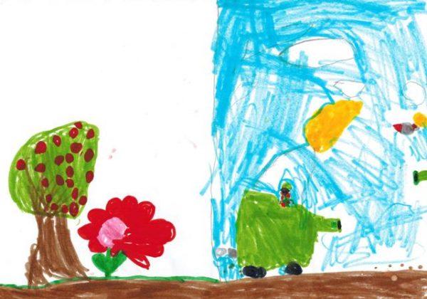 ילדים במלחמה – פענוח ציורי ילדים